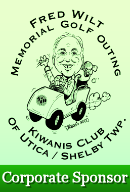 Fred Wilts Memorial Golf - Utica Shelby Kiwanis - Corporate Sponsor