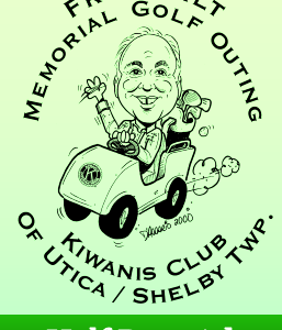 Fred Wilts Memorial Golf - Utica Shelby Kiwanis - Half Page Ad